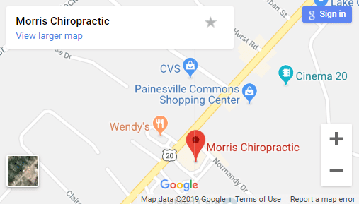 Map of Painesville Chiropractors